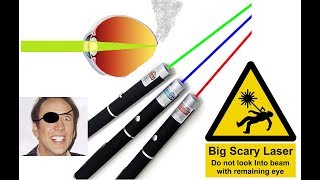 eBay laser pointers are DANGEROUS!!!