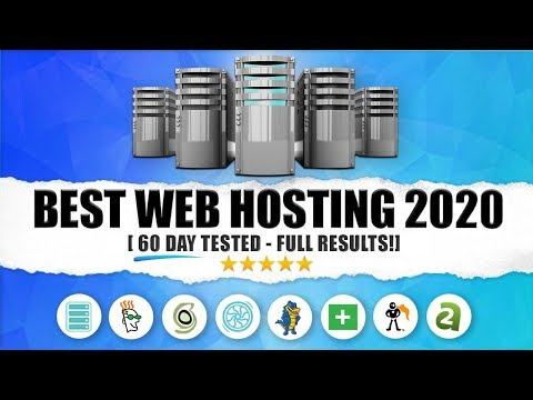 Best Web Hosting For Wordpress 2020 🔥