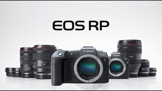 YouTube Video -2dvXMGB9Bc for Product Canon EOS RP Full-Frame Mirrorless Camera by Company Canon in Industry Cameras