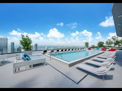 Brickell Heights Roof Top 50th Floor Pool Deck!
