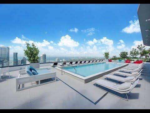 Brickell Heights Roof Top 50th Floor Pool Deck!