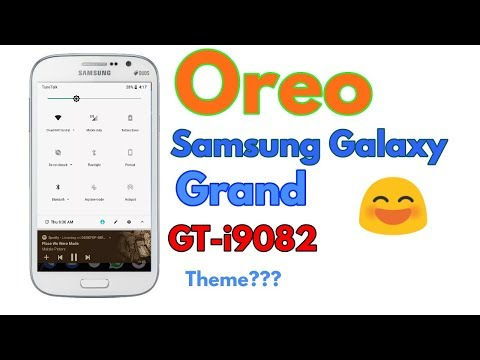 Installing android oreo substratum theme on samsung galaxy grand GT-I90