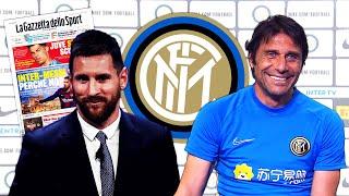 MESSI FINALEMENT À LINTER MILAN : RETOUR DU GRAND DUEL MESSI - RONALDO !? #LN