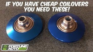 240SX EBAY COILOVER REVIEW Pt. 2 (radial bearings)