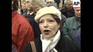 FRANCE: PARIS: CHARLES TRENET FUNERAL
