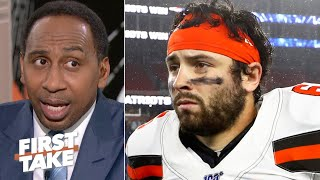 'Baker Mayfield is going to fail in the NFL' unless he cleans up his act - Stephen A. | First Take