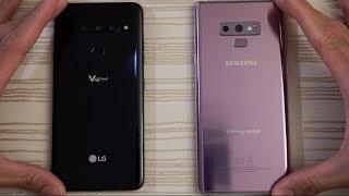 LG V40 vs Samsung Note 9 - Speed Test!