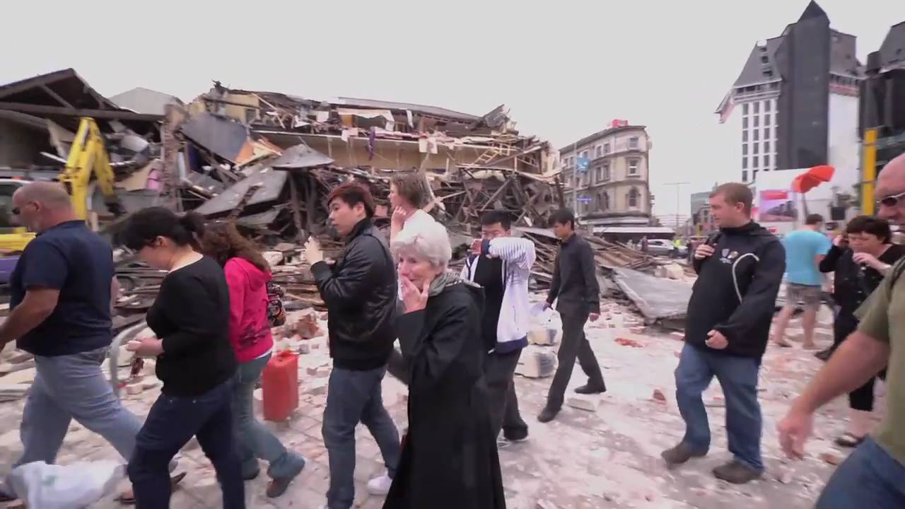 Life, One Minute After A Catastrophic Earthquake