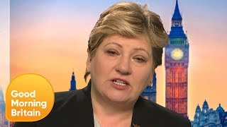 Emily Thornberry Refuses to Confirm or Deny if Labour Will Ever Use Trident | Good Morning Britain