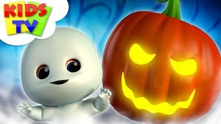 Ha Ha Ha It's Halloween | Junior Squad Cartoons | Scary Rhymes For Kids | Halloween Music by Kids Tv