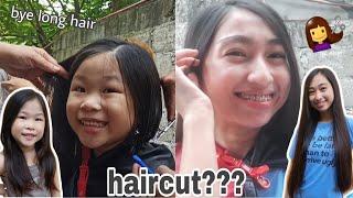 Having Our Haircut Ll Bye Long Hair