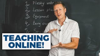 Teaching Online: 6 Things not to Worry About when Starting Out as an Independent Teacher