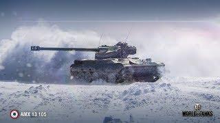В БОЙ НА AMX 13 105! МАЛЕНЬКИЙ БАТ ЧАТ В ДЕЛЕ! #AMX