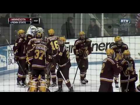 Rem Pitlick Scores Gopher Hockey's Game-Winning Goal Against Penn State Saturday Night!