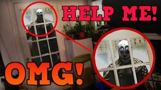 KILLER CLOWN BREAKS INTO MY HOUSE TO TRY AND KILL ME!! *WARNING* (Gone Wrong) MUST WATCH!!