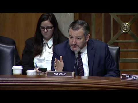 Cruz Renews Call for Maximum Pressure on Iran During Senate Foreign Relations Nomination Hearing