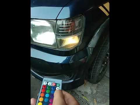 Lampu senja RGB T10