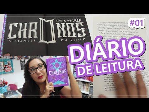 DIÁRIO DE LEITURA 'CHRONOS VIAJANTES DO TEMPO' #1 | Amiga da Leitora