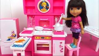 La exploradora videos - Dora la exploradora cocina ...
