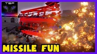 Brick Rigs - Destructible Lego Vehicles Mayhem with MISSILES #2