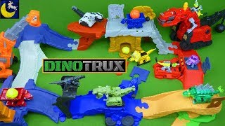LOTS Of Dinotrux Toys! Mega Ty Rux Revvit Skya Dozer Ton Ton Garby Toys And MORE!!