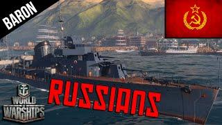 World of Warships Russian Navy - Aurora, Gremyaschiy & Murmansk - Russian Premiums