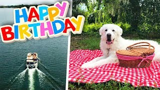 KODA'S 6th BIRTHDAY PARTY! (Boat Ride to Private Island Picnic)