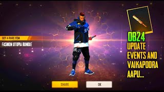 Ob24 events and updates freefire | vedapu gaming