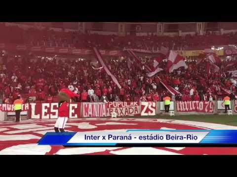 """""""Colorados cantando antes da partida com o Paraná"""" Barra: Guarda Popular • Club: Internacional"""