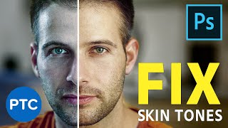 Fix Skin Tones in Photoshop with One-Click! POWERFUL Photoshop Curves Adjustment Hack