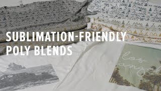Sublimation Printing on Poly Blends: Everything You Need to Know