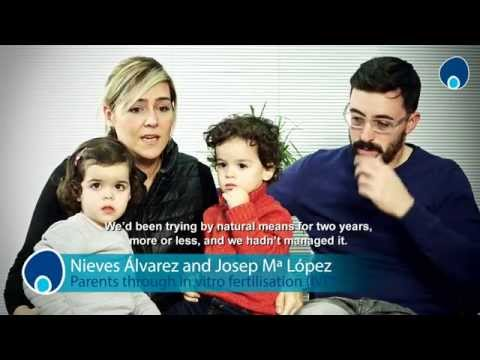 Nieves Álvarez and Josep Mª López