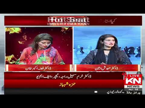 Hot Seat | Dr Mehwish Amin Exclusive Interview | Kohenoor News Pakistan