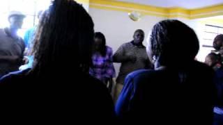 Kenyan Family Sings The National Anthem of Kenya