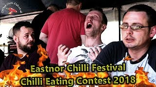 Chilli Eating Contest Eastnor Castle Festival May 2018