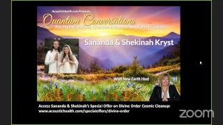 Divine Order & Genetic Liberation with Sananda & Shekinah Kryst