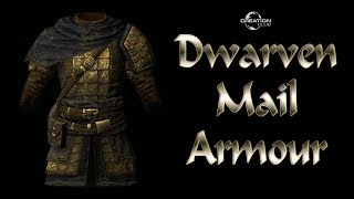 Skyrim Creation Club, Alternative Armors, Dwarven Mail