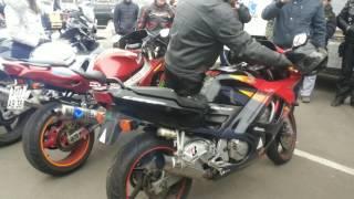 Смотреть онлайн Соревнование на самый громкий выхлоп мотоцикла