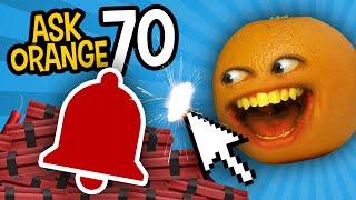 Annoying Orange - Ask Orange #70: Notification Bell TNT!