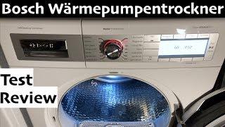 Bosch Home Professional Wärmepumpentrockner WTY887W3 im Test & Review