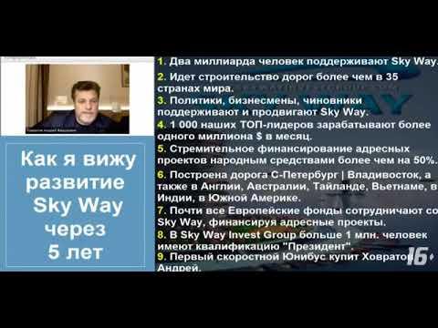 SKY WAY CAPITAL   News Будущее строим САМИ !!! Building the future OURSELVES !!!