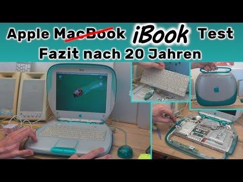 Apple iBook Test 🔧 Fazit nach 20 Jahren ❌kein MacBook❌ mit OS X