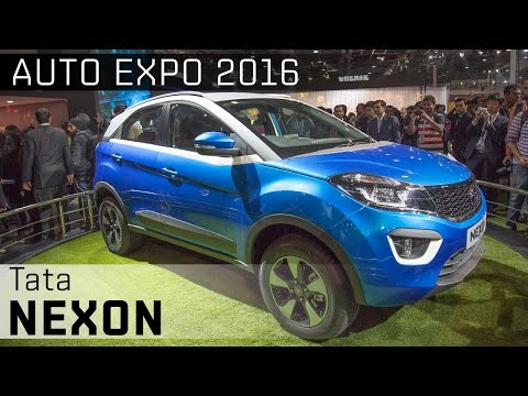 Tata Nexon :: 2016 Auto Expo WalkAround video :: ZigWheels India ZigWheels  ZigWheels