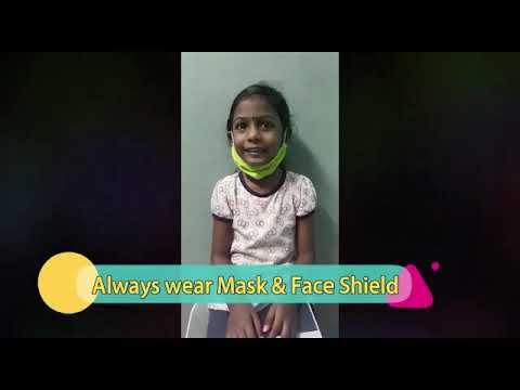 kids mask & face shield (english version)