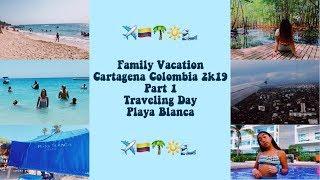 Summer Vacation// Cartagena 2019 Part 1
