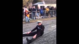 Stunt rider Police officer Video