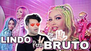 Thalía, Lali Lindo Pero Bruto Official Video   REACCION