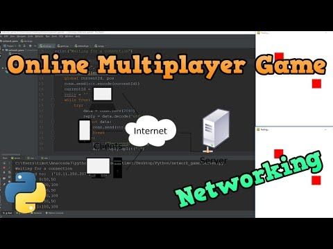 Online Multiplayer Game With Python - Sockets and Networking