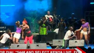 """Wahu performs """"Running Low"""" at Safaricom KENYA LIVE Eldoret Concert"""