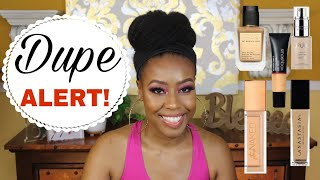 Drugstore Foundation Dupes?🤔 Duping My High End Foundations ♡ Pt.1